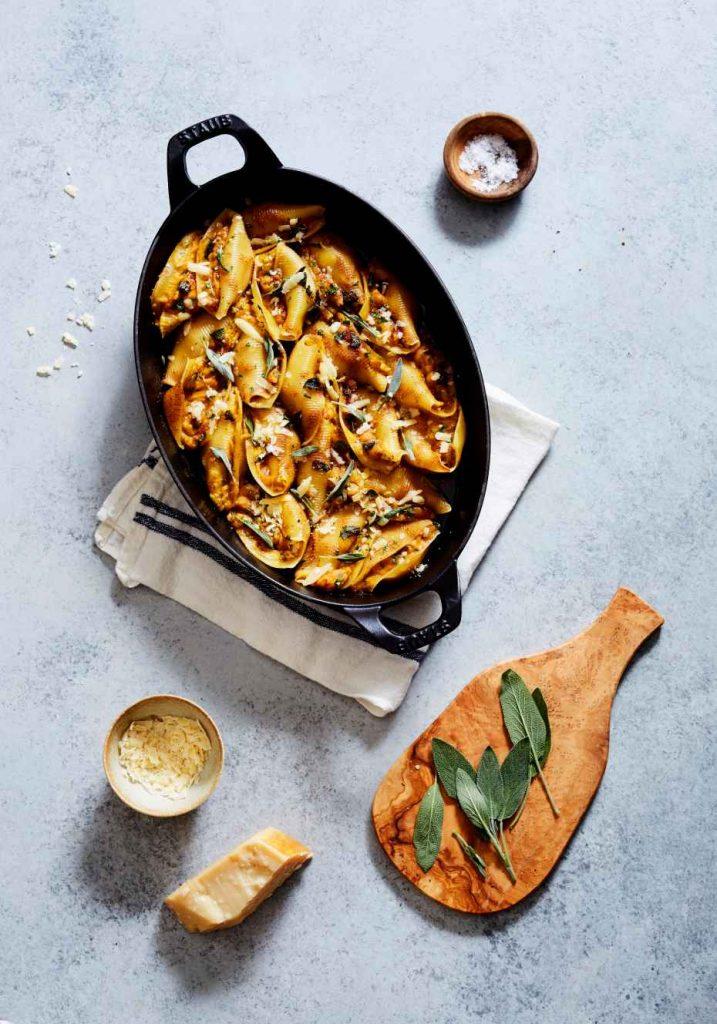 Butternut Squash and Sage Stuffed Shells