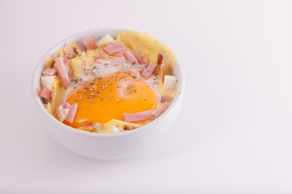 Microwave Eggs In A Cup