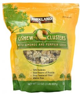 Signature's Cashew Cluster with Almonds and Pumpkin seeds