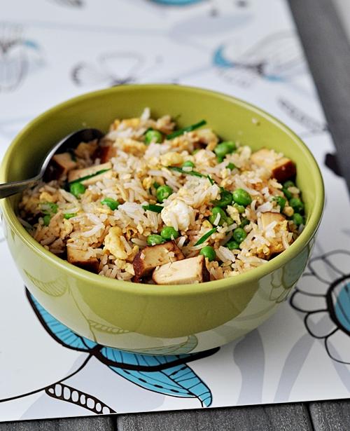 Smoked Tofu & Egg Fried Rice