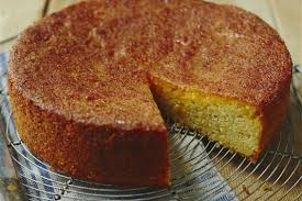 Sticky Orange Potato Cake Recipe