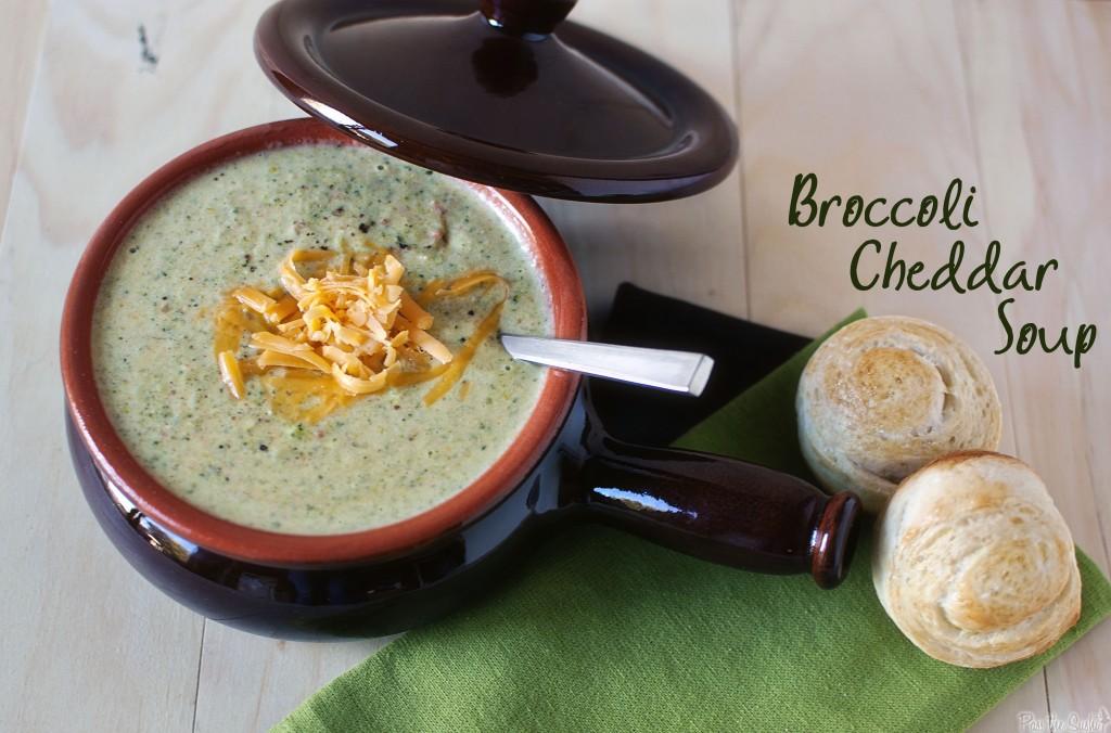 Famous Broccoli-Cheddar Soup
