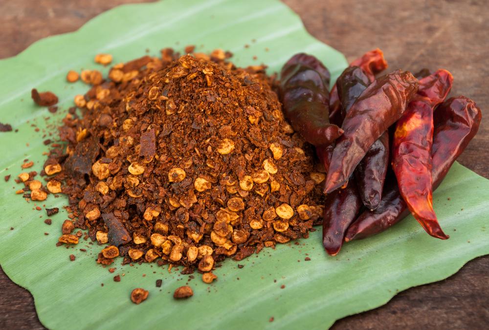 cayenne pepper close up