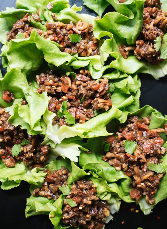 Thai-Style Lettuce Wraps