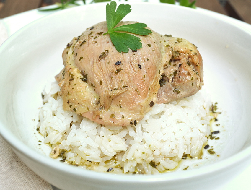 8 Bay Leaf Chicken