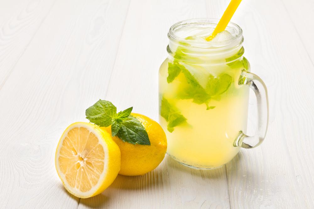 Borage Infused Lemonade