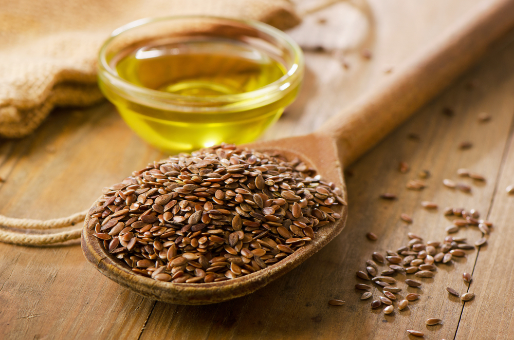 Brown Flaxseeds and Oil