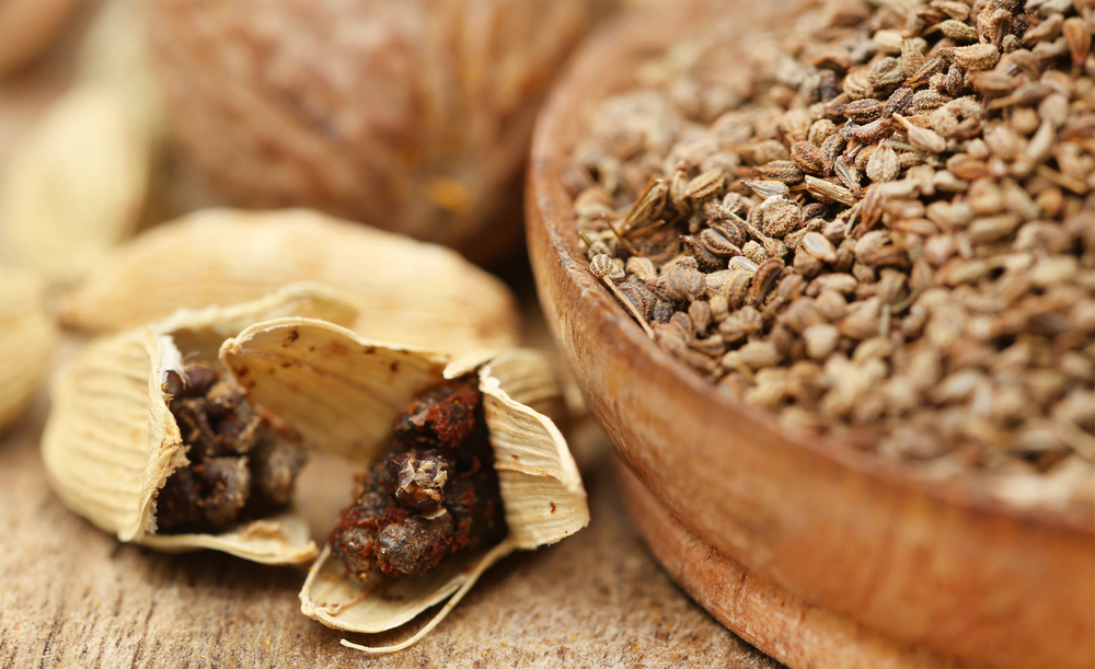 Carom (Ajwain) Seeds with other spice