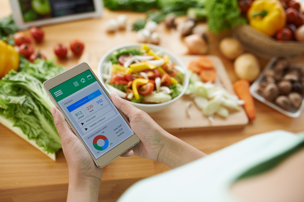 Create Calorie Deficit using a weight loss app