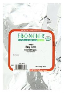 Frontier Bay Leaf Whole Certified Organic