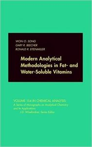 Modern Analytical Methodologies in Fat- and Water-Soluble Vitamins