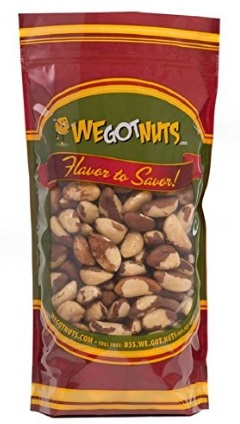 Natural Brazil Nuts by We Got Nuts