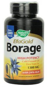Nature's Way Borage Oil 1300mg