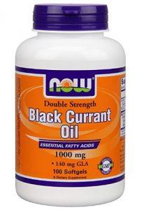 Now Foods Double Strength Black Currant Oil Dietary Supplement