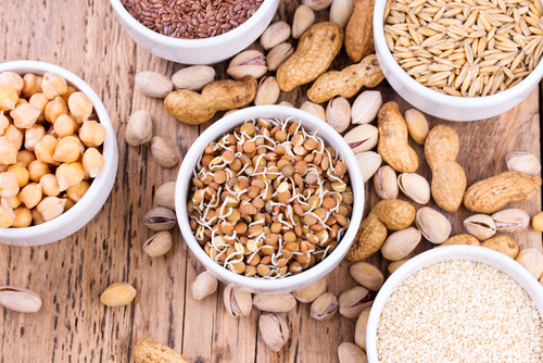 Nuts & Lugemes - complex carbohydrates