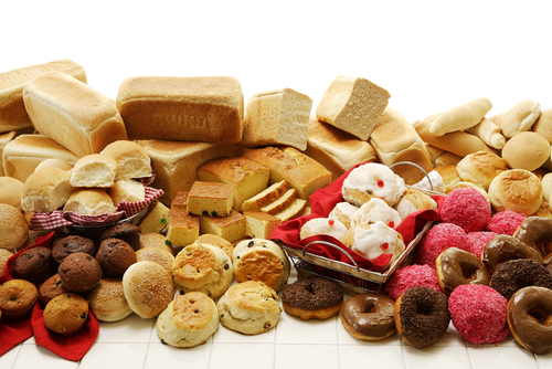 Refined Baked Goods - simple carbohydates