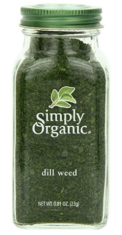 Simply Organic Dill Weed Cut & Sifted Certified Organic