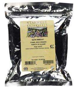 Starwest Botanicals Organic Fennel Seeds