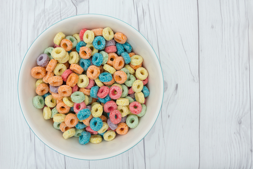 Sugared Cereal - simple carbohydrates