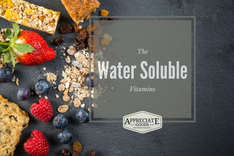 Water Soluble Vitamins New Featured Image