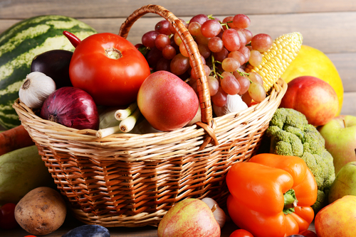 Whole Fruits & Vegetables - complex carbohydrates