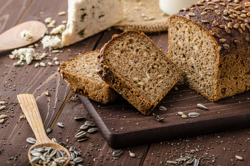 Whole Grain Bread - complex carbohydrates