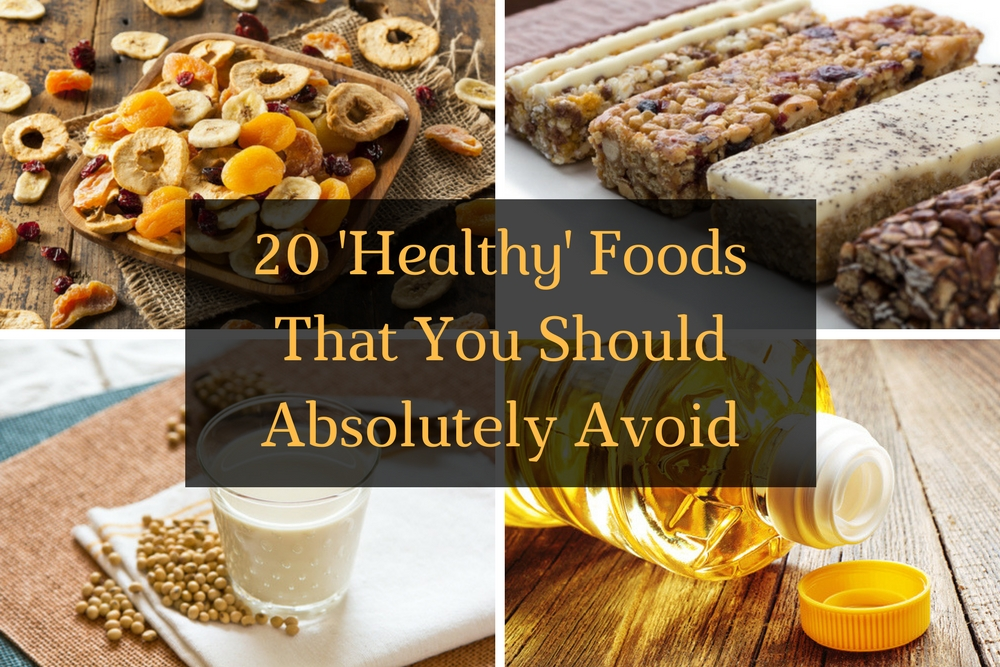 20 Healthy Foods that You Should Absolutely Avoid - Article Featured Image