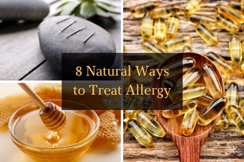 8 Natural Ways to treat Allergy Article - Featured Image Edited