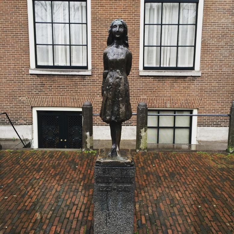 Anne Frank's memorial