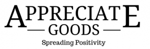 Appreciate Goods - Spreading Positivity Logo