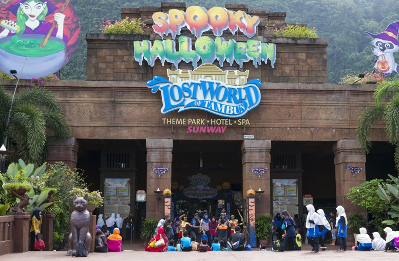 Atmosphere at Lost World of Tambun