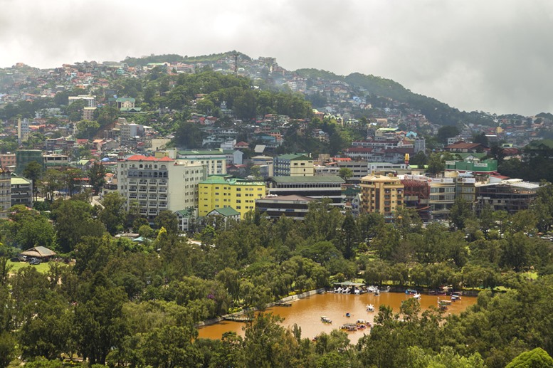 Baguio City View, Philippines