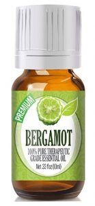 Bergamot - 100% Pure, Best Therapeutic Grade Essential Oil