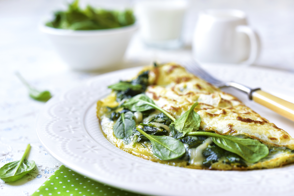 Breakfast Egg White Omelet Recipe - Natural Acne Treatment