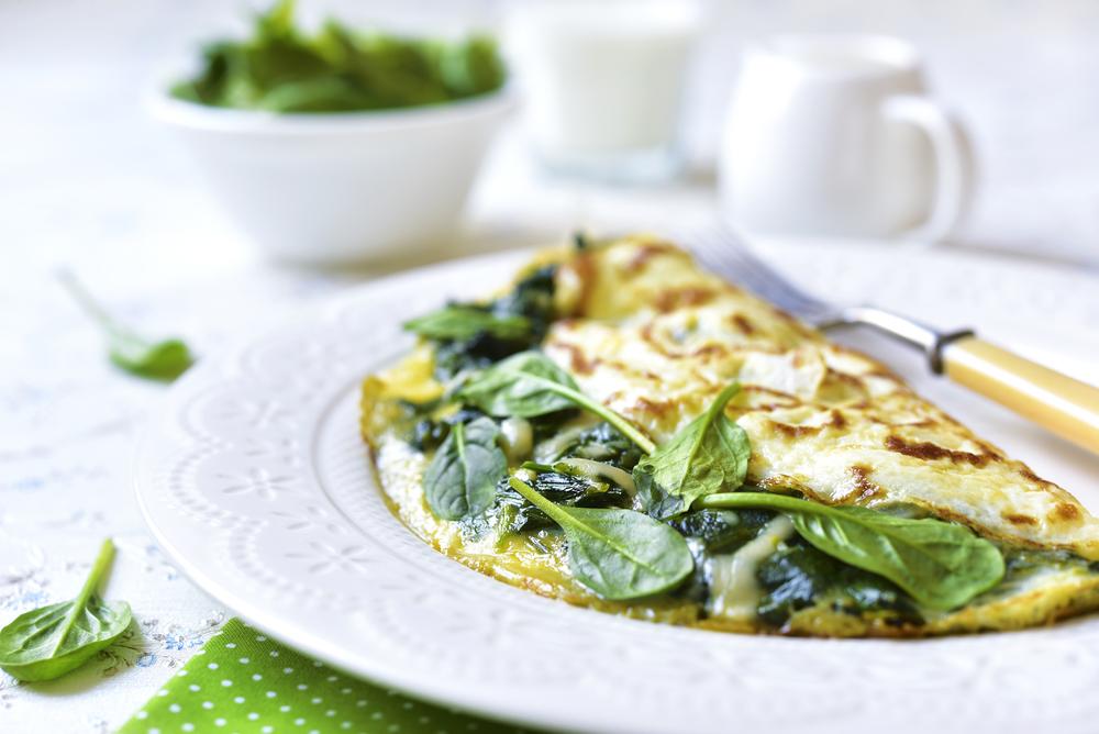 Breakfast Egg White Omelet Recipe - Natural Acne Treatment