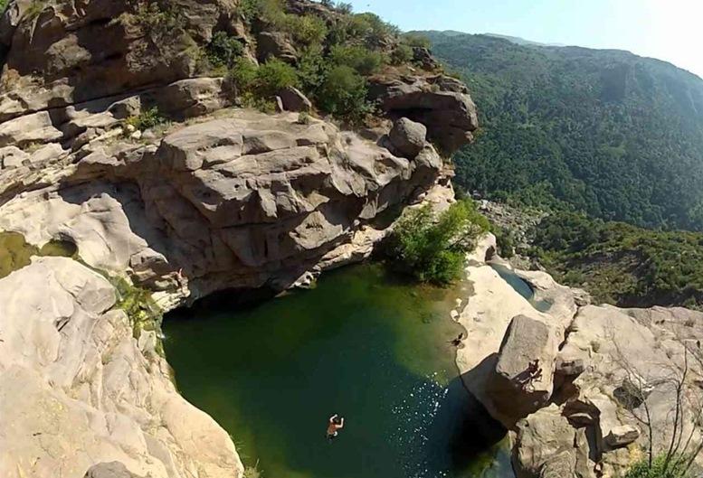 CLIFF JUMPING at Ba Ho Falls, Nha Trang