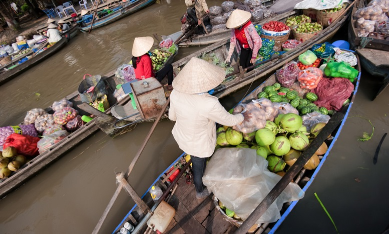 Can Tho Floating Market 3