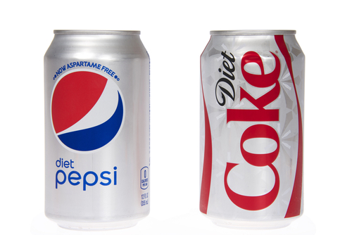 Diet Soda - Diet Pepsi and Diet Coke