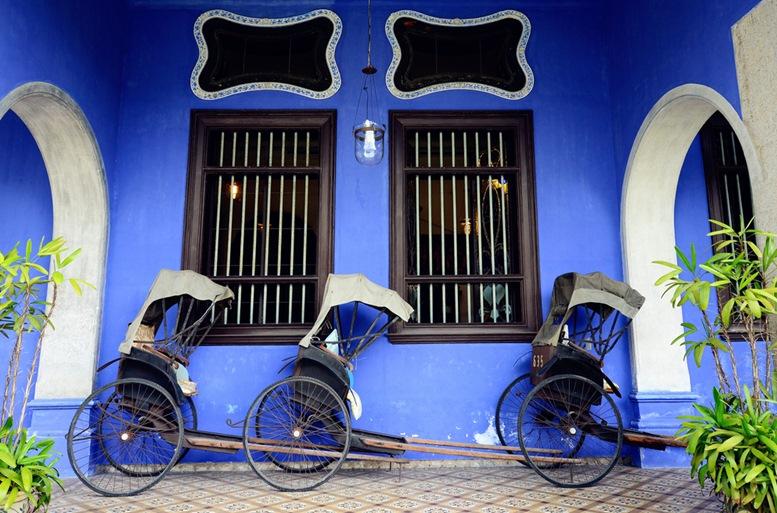 Exterior view of Cheong Fatt Tze Blue Mansion