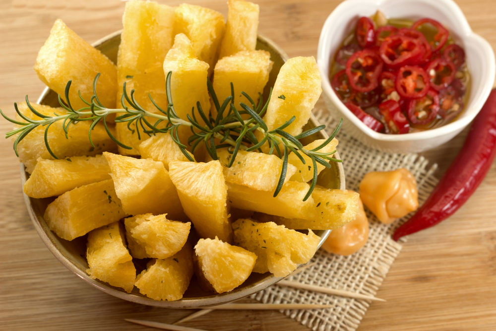 Fried Cassava Sticks