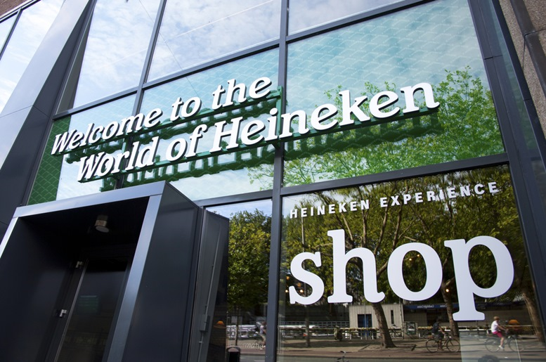 Front of the Heineken Experience
