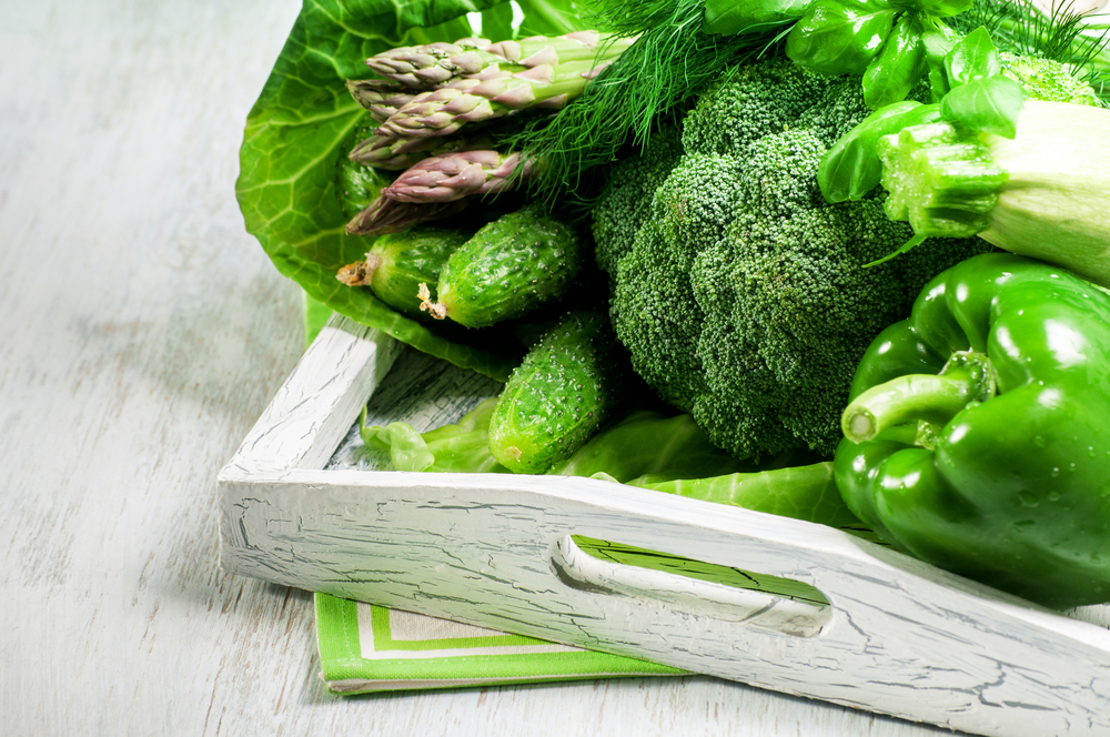 Green Vegetables - Top Foods for Acne Treatment