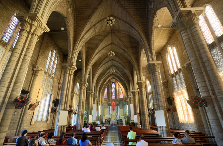 Interior of King Cathedral (Stone Church)