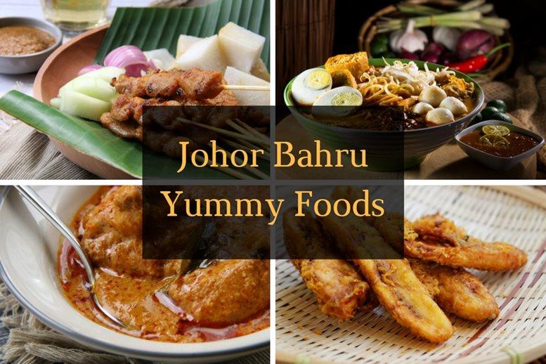 Johor Bahru, Malaysia - Yummy local Foods