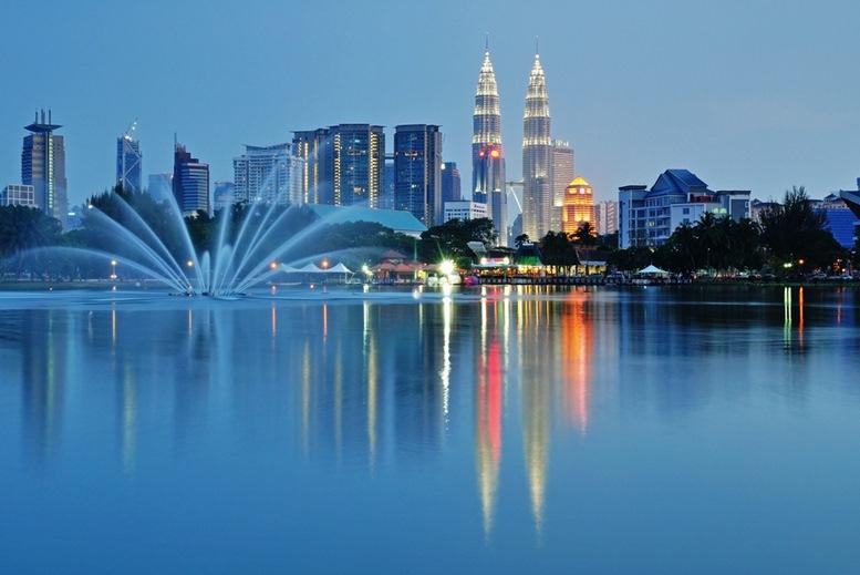 Kuala Lumpur night Scenery