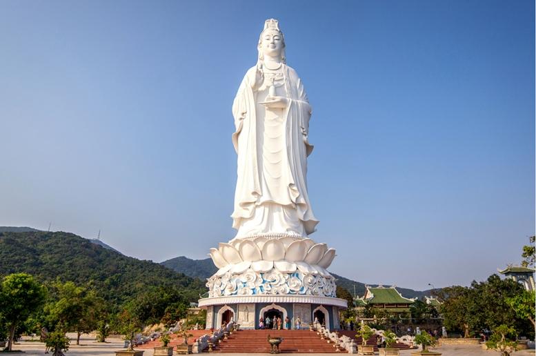 Lady Buddha Statue in Da Nang, Vietnam