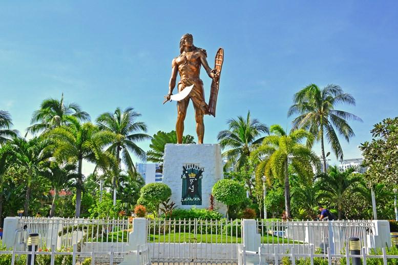Lapu Lapu Shrine in Mactan Island, Cebu, Philippines.