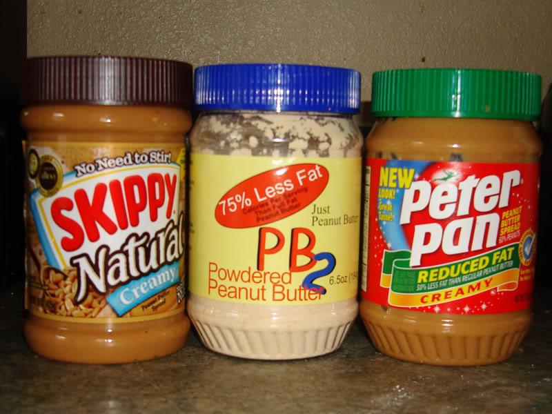 Lowest fat peanut butter