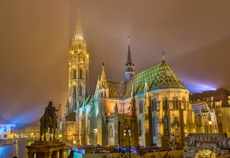 Matthias Church in Buda Castle