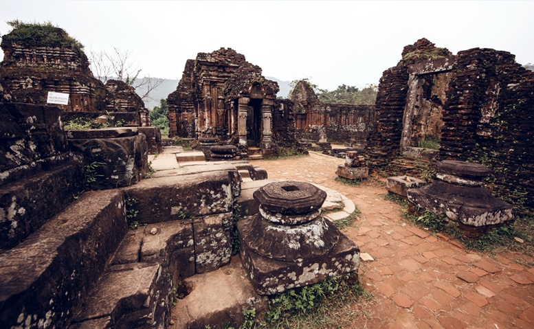 My Son temple ruins, Vietnam